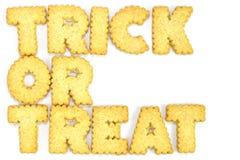 Cookies das letras Fotos de Stock