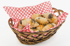 Cookies in dasket Royalty Free Stock Photos