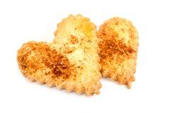 Cookies de açúcar dadas forma coração Foto de Stock Royalty Free