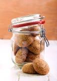 Cookies de açúcar em um frasco Fotografia de Stock Royalty Free