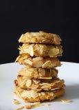 Cookies de amêndoa Fotografia de Stock Royalty Free