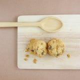 Cookies de amêndoa caseiros (3) Fotografia de Stock