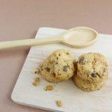 Cookies de amêndoa caseiros (2) Fotografia de Stock