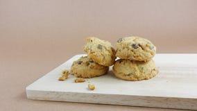 Cookies de amêndoa caseiros (1) Fotos de Stock Royalty Free