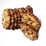 Cookies de biscoito amanteigado Fotografia de Stock Royalty Free