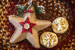 Cookies de biscoito amanteigado Imagens de Stock