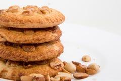 Cookies de biscoito amanteigado Foto de Stock Royalty Free