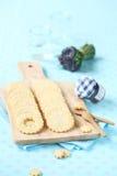 Cookies de biscoito amanteigado Imagens de Stock Royalty Free