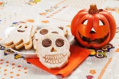 Cookies de Dia das Bruxas Imagem de Stock Royalty Free