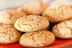 Cookies de farinha de aveia Imagens de Stock
