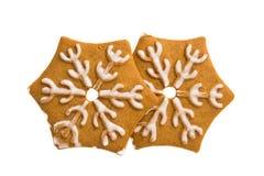 Cookies de Ginger Christmas foto de stock royalty free