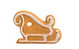 Cookies de Ginger Christmas fotografia de stock royalty free