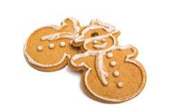 Cookies de Ginger Christmas fotos de stock