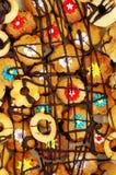 Cookies de Linzer tradicionais Foto de Stock Royalty Free