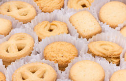 Cookies de manteiga. Foto de Stock Royalty Free