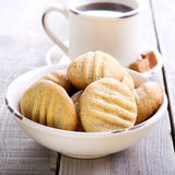 Cookies de manteiga do amendoim Imagem de Stock Royalty Free