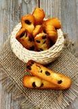 Cookies de passa Imagem de Stock