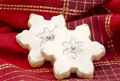 Cookies decorated Royalty Free Stock Photography