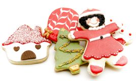 Cookies decorated Royalty Free Stock Image