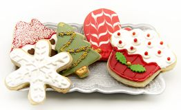 Cookies decorated Royalty Free Stock Photos