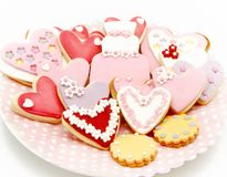 Cookies decorated Stock Photos