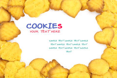 Cookies with different Shapes Stock Image