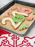2016 cookies do ano novo imagens de stock