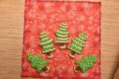 Cookies do ano novo Fotografia de Stock Royalty Free