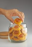 Cookies do chinês tradicional Foto de Stock