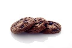 Cookies do chocolate Foto de Stock