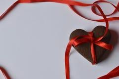 Cookies do coração fotos de stock