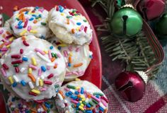 Cookies do feriado Fotografia de Stock