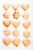 Cookies do feriado Imagens de Stock Royalty Free
