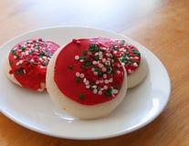 Cookies do feriado Fotografia de Stock Royalty Free