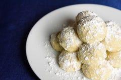 Cookies do feriado Foto de Stock