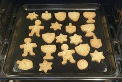 Cookies do Hanukkah Fotografia de Stock Royalty Free