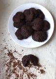Cookies do hocolate do ¡ de Ð Imagens de Stock Royalty Free