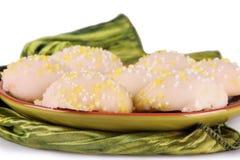 Cookies do limão imagens de stock