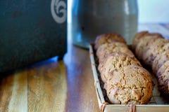Cookies do Molasse Foto de Stock Royalty Free