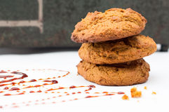 Cookies do Molasse imagem de stock royalty free