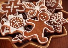 Cookies do Natal Fotografia de Stock