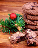 Cookies do Natal imagem de stock