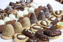 Cookies do Natal Foto de Stock