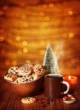 Cookies do Natal Imagem de Stock