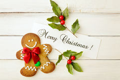 Cookies do Natal Imagem de Stock Royalty Free
