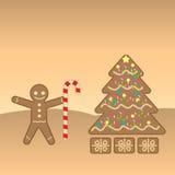 Cookies do Natal Ilustração Royalty Free