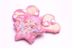 Cookies do Natal Imagens de Stock