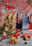 Cookies do Natal fotografia de stock royalty free