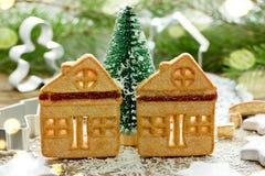 Cookies do Natal, divertimento e deleites festivos do feriado do Natal imagens de stock royalty free