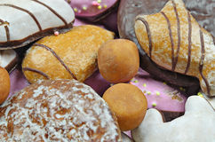 Cookies do pão-de-espécie Imagens de Stock
